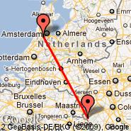 Aachen (Aachen/Merzbruck, AAH) - Amsterdam (Amsterdam-Schiphol, AMS)