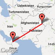 Al Ain (Al Ain International Airport, AAN) - Islamabad (Islamabad International, ISB)