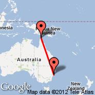 Bamaga (Bamaga Injinoo, ABM) - Sydney (Kingsford Smith, SYD)