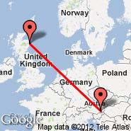 Aberdeen (Dyce, ABZ) - Graz (Thalerhof, GRZ)