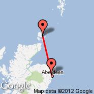 Aberdeen (Dyce, ABZ) - Orkney/Kirkwall (Orkney Island, KOI)