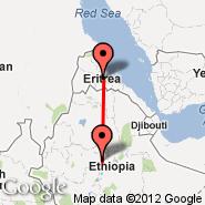 Addis Abeba (Bole International, ADD) - Asmara (Yohannes IV, ASM)