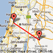 Aman (Queen Alia Intl, AMM) - Ramallah (Ramallah Heliport, ZDM)