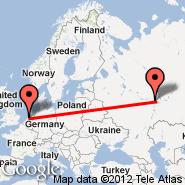 Amsterdam (Amsterdam-Schiphol, AMS) - Kazan (KZN)