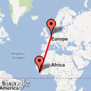 Amsterdam (Amsterdam-Schiphol, AMS) - Sierra Leone (SRK)