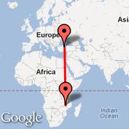 Ankara (Etimesgut, ANK) - Lilongwe (Kumuzu International Airport, LLW)