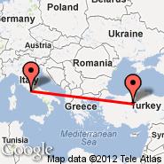 Ankara (Etimesgut, ANK) - Rim (Metropolitan Area, ROM)