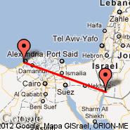 Aqaba (King Hussein Intl, AQJ) - Aleksandrija (El Nohza, ALY)