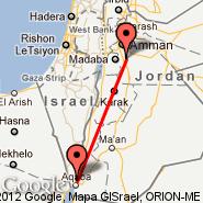 Aqaba (King Hussein Intl, AQJ) - Amman (Queen Alia Intl, AMM)