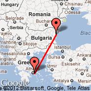Athens (Eleftherios Venizelos, ATH) - Varna (Varna International Airport, VAR)