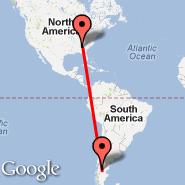 Atlanta (Hartsfield-jackson Atlanta International, ATL) - Alto Rio Senguer (Alto Rio Senguerr, ARR)