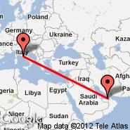 Abu Dhabi (Abu Dhabi International, AUH) - Rim (Metropolitan Area, ROM)