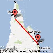 Aurukun Mission (AUU) - Cairns (Cairns International Airport, CNS)