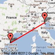 Barcelona (El Prat De Llobregat, BCN) - Treviso (S. Angelo, TSF)