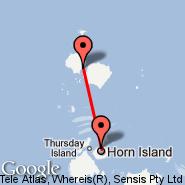 Badu Island (BDD) - Horn Island (Horn Island Airport, HID)