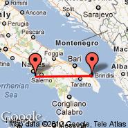 Brindisi (Papola Casale, BDS) - Sorrento (RRO)