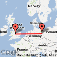 Berlin (Berlin Metropolitan Area, BER) - Birmingham (Birmingham International Airport, BHX)