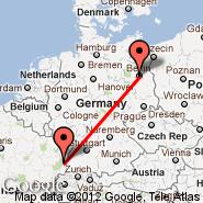 Berlin (Berlin Metropolitan Area, BER) - Colmar (Colmar-houssen, CMR)