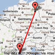 Berlino (Berlin Metropolitan Area, BER) - Genova (Cristoforo Colombo, GOA)