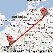 Berlin (Berlin Metropolitan Area, BER) - Nevers (Fourchambault, NVS)