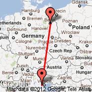 Berlin (Berlin Metropolitan Area, BER) - Padova (QPA)