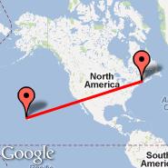 Bangor (Bangor International Airport, BGR) - Honolulu/Oahu (Honolulu International, HNL)