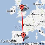 Birmingham (Birmingham International Airport, BHX) - Alicante (Alicante El Altet, ALC)