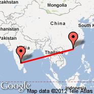 Bangalore (Bangalore International Airport, BLR) - Hong Kong (Hong Kong International, HKG)