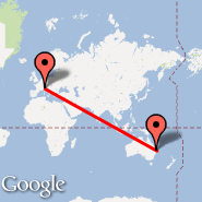 Brisbane (Brisbane International, BNE) - Milan (Metropolitan Area, MIL)