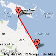 Brisbane (Brisbane International, BNE) - Mabuiag Island (UBB)