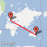 Brisbane (Brisbane International, BNE) - Venecija (Marco Polo, VCE)