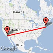 Boston (Logan International, BOS) - Los Angeles (Los Angeles International, LAX)