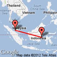 Balikpapan (Sepingan, BPN) - Kuala Lumpur (Kuala Lumpur International Airport, KUL)