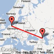 Bremen (Neuenland, BRE) - Groznyj (Groznyj, GRV)