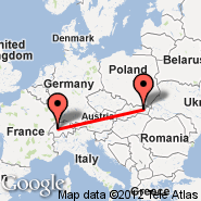 Berne (Belp, BRN) - Presov (POV)