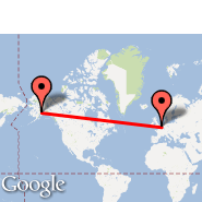 Bruxelles (Brussels Airport, BRU) - Anchorage (Ted Stevens Anchorage International Airport, ANC)