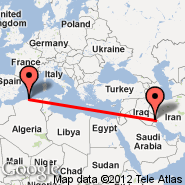 Basra (International, BSR) - Algiers (Houari Boumediene, ALG)