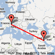 Basra (International, BSR) - Milan (Metropolitan Area, MIL)