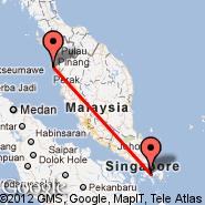Batam (Hang Nadim, BTH) - Penang (Penang International, PEN)