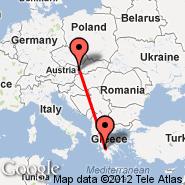 Bratislava (M. R. Štefánika, BTS) - Patras (Araxos Airport, GPA)