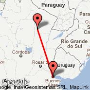 Buenos Aires (Metropolitan Area, BUE) - Charata (CNT)