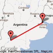 Buenos Aires (Metropolitan Area, BUE) - Neuquen (Presidente Peron, NQN)