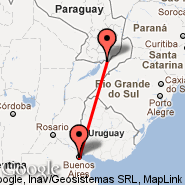 Buenos Aires (Metropolitan Area, BUE) - Posadas (PSS)