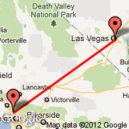 Burbank (Bob Hope, BUR) - Las Vegas (Mc Carran Intl, LAS)