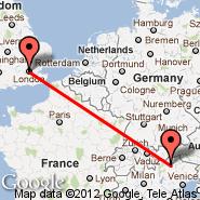 Bolzano (BZO) - London (Metropolitan Area, LON)