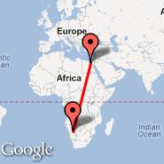 Kairo (Cairo International, CAI) - Windhoek (Hosea Kutako International, WDH)