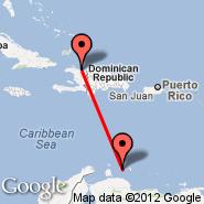 Cap-Haitien (Cap Haitien, CAP) - Curacao (Hato International Airport, CUR)