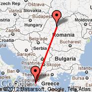 Corfu (Ioannis Kapodistrias, CFU) - Cluj-Napoca (Cluj Napoca International Airport, CLJ)