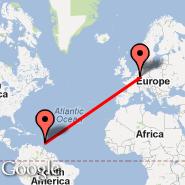 Cologne (Cologne/bonn, CGN) - Barbados (Grantley Adams International, BGI)
