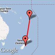 Christchurch (Christchurch International, CHC) - Nadi (Nadi International, NAN)